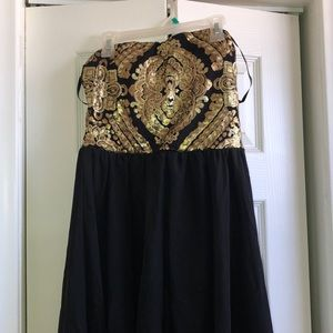 Cute high to low dress